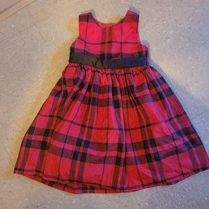George Plaid Dress